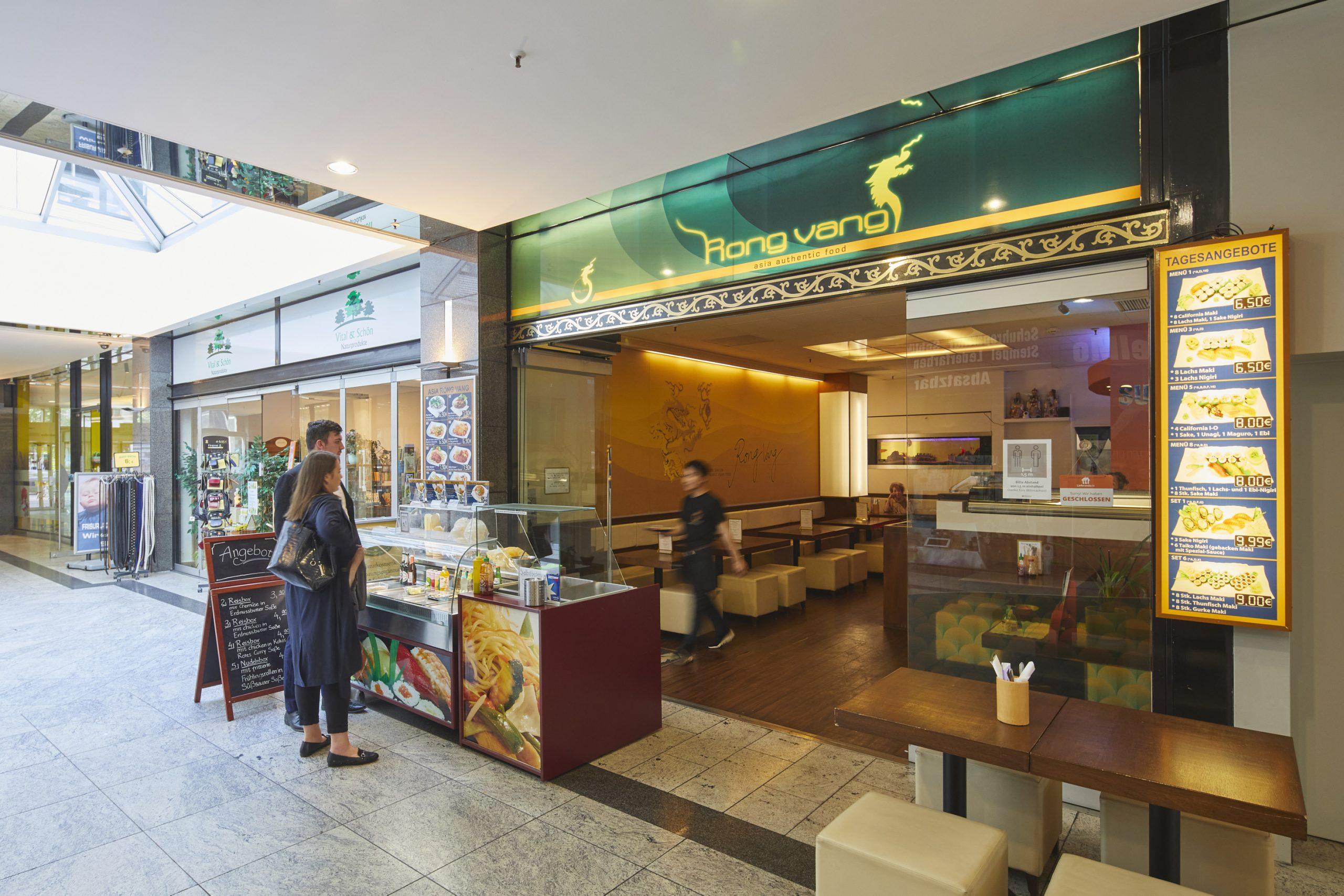 Sushi Restaurant Asia Rong Vang im Plaza Frankfurter Allee Berlin