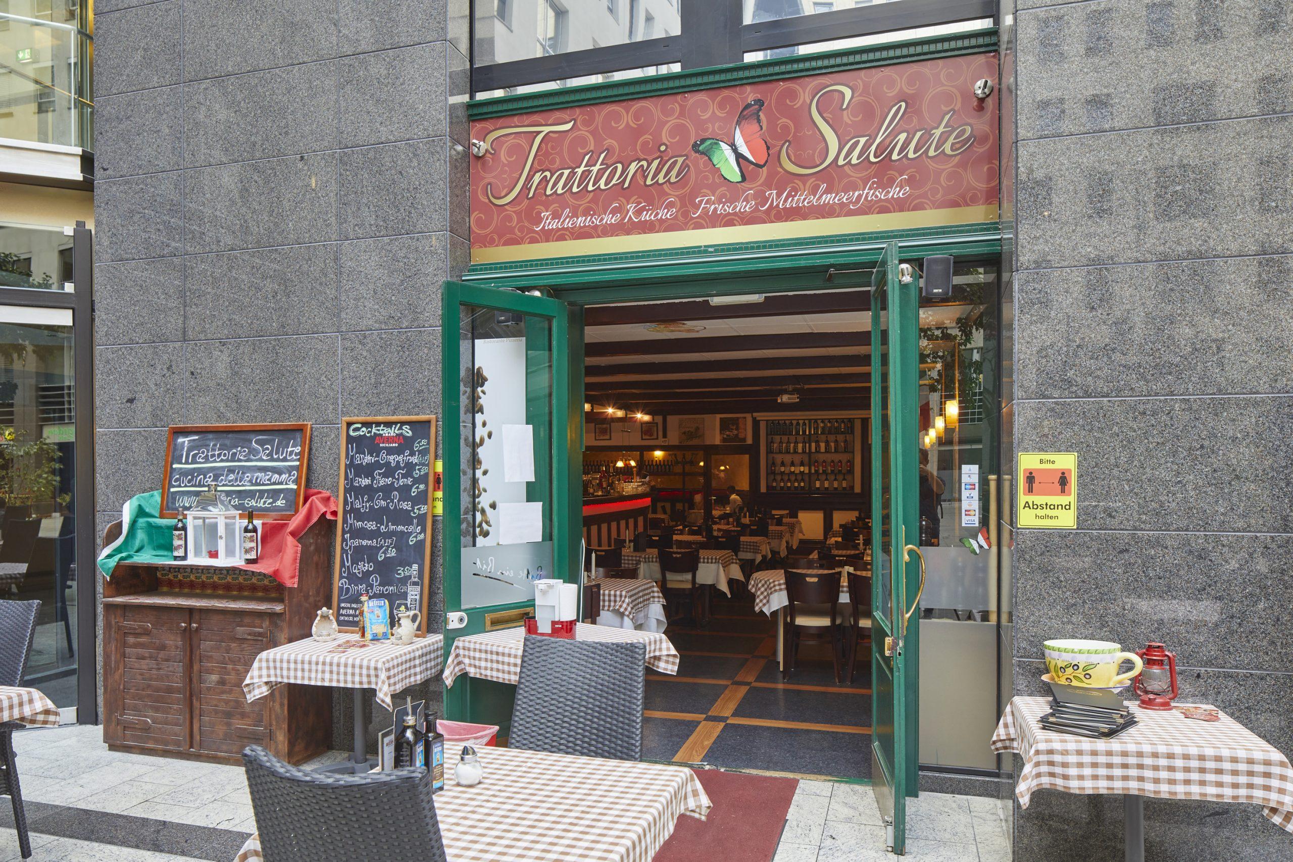 italienisches Restaurant Trattoria Salute im Plaza Frankfurter Allee Berlin